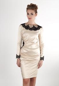 7de3f3eb61c Короткие свадебные прямые платья