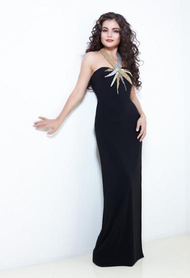 фото платьев черный низ белый верх фото #13