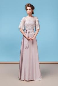 Вечернее платье со шлейфом Августина - GraceEvening.ru (Москва) f79d5f06e57