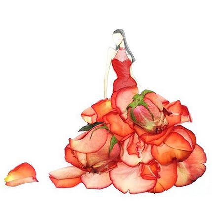 Цветочная акварель Лим Чжи Вэй