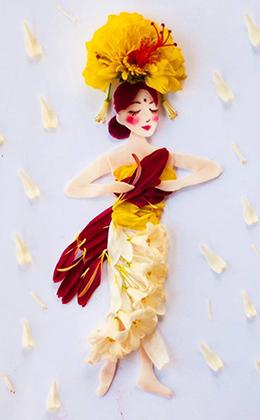 Акварельные картины художницы Лим Чжи Вэй