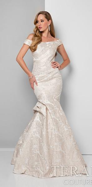 Вечернее платье силуэт рыбка Terani Couture