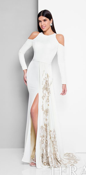 Роскошное вечернее платье Terani Couture
