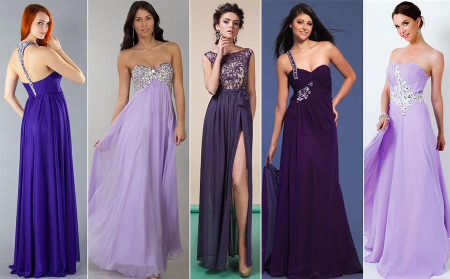 Сиреневые платья для Нового года 2017. Салон платьев GraceEvening