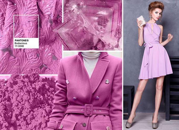 Цветовая палитра платьев Bodacious 17-3240 в салоне платьев GraceEvening