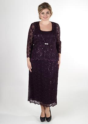 Гипюровое платье для женщин 40+. Салон GraceEvening
