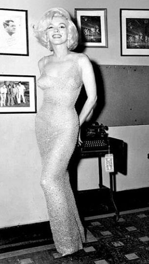 Облегающее платье Мэрилин Монро от Жана Луи
