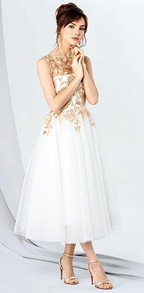 Вечернее платье миди Emse