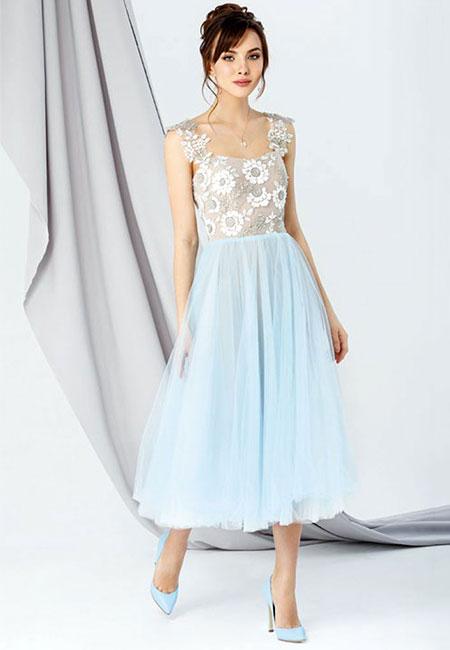 Голубое платье Emse