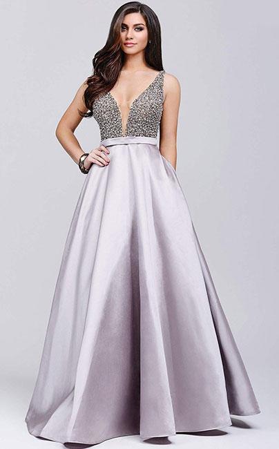 Вечернее платье цвета лаванды Jovani