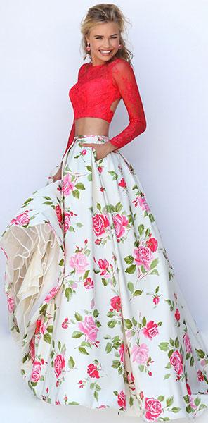 Раздельное платье Sherri Hill