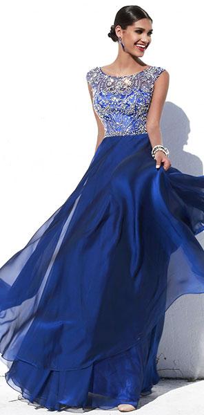 Вечернее длинное платье Sherri Hill