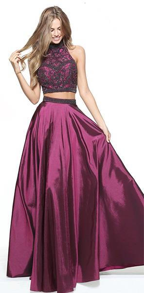 Красивое раздельное платье Sherri Hill