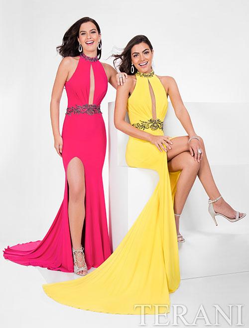 Роскошные платья со шлейфом Terani
