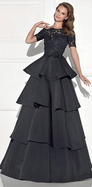 Элегантное пышное платье Tarik Ediz