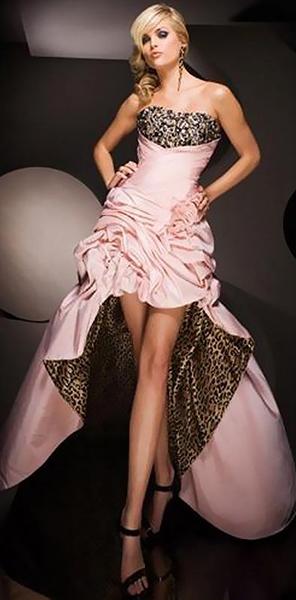 Платье короткое спереди длинное сзади Tony Bowls