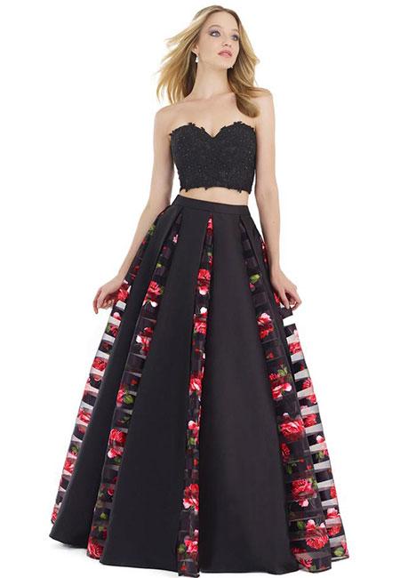 Раздельное платье с пышной юбкой Morrell Maxie