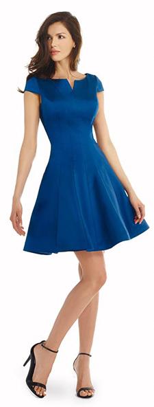 Стильное синее платье Morell Maxie