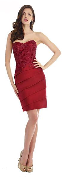 Платье без бретелей Morell Maxie