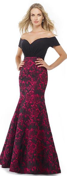 Стильное платье со спущенными плечами Morell Maxie