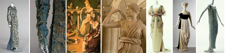 Платья в античном стиле - баннер
