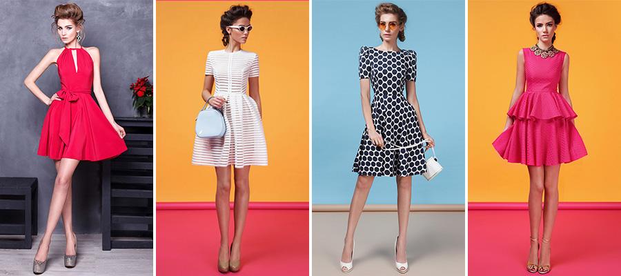 Платья в стиле ретро в салоне GraceEvening