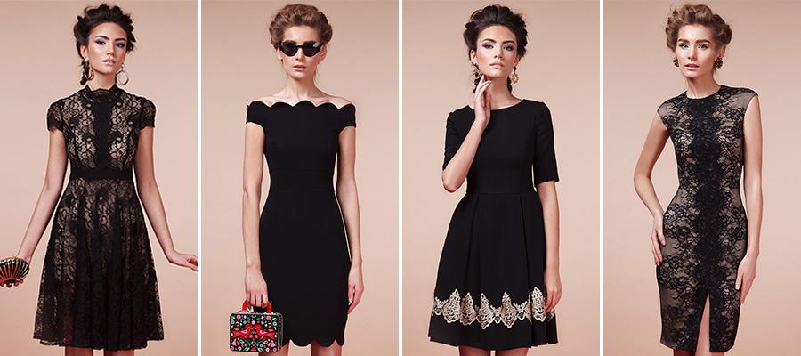 Маленькое черное платье в GraceEvening