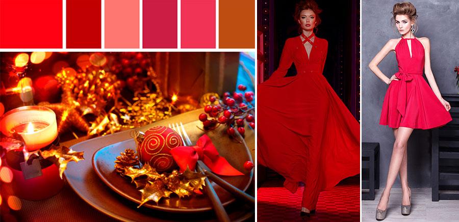 Красное платье на Новый год. Салон платьев GraceEvening