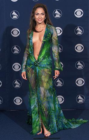 Дженнифер Лопес в платье от Версаче. Блог GraceEvening
