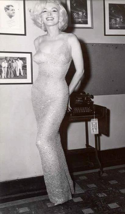 Мэрилин Монро на праздничном концерте в честь дня рождения Дж. Кеннеди 1962 г. Блог GraceEvening