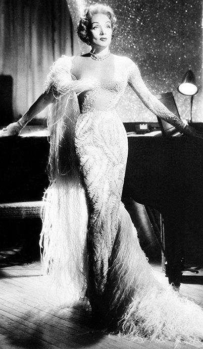 Иллюзорное платье Марлен Дитрих. Блог GraceEvening
