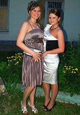 Катя в платьях из нашего салона