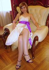 Оксана Верзун (платье Мириам)