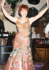 Лаура в платье из нашего салона