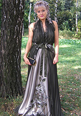 Миронова Кристина (платье Азиза)
