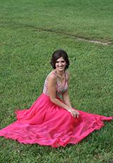 Гюльнара в платье из нашего салона
