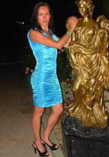 Екатерина Стольникова в платье Фаина