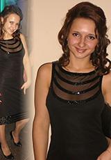 Ася (в платье Аглая)