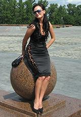 Илона в платье Альбина