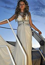 Маргарита в платье из нашего салона
