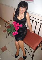 Александра в платье из нашего салона