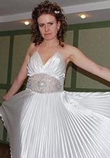 Ольга в платье из нашего салона
