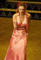 Наталья в платье из нашего салона.