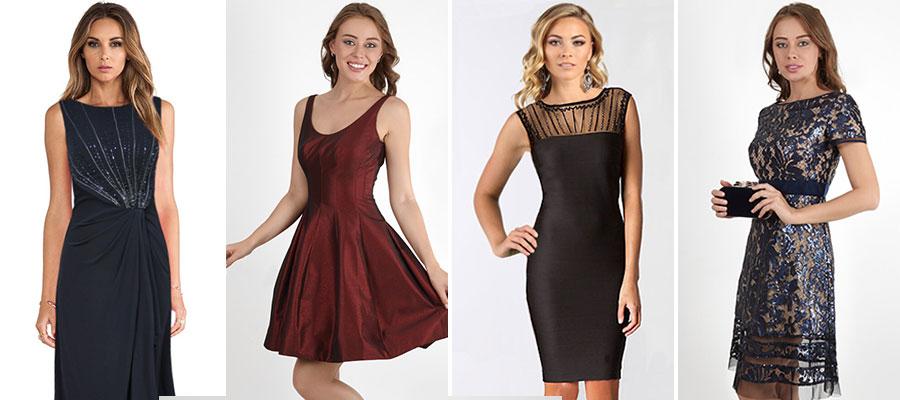 Коктейльные платья из тканей с блеском в салоне платьев GraceEvening. Фото