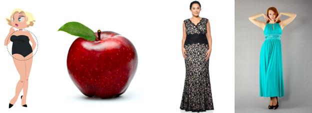 Вечерние платья для мамы невесты с типом фигуры «яблоко» в салоне GraceEvening