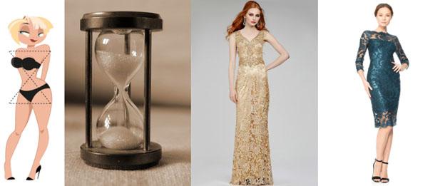 Вечерние платья для мамы невесты с типом фигуры «песочные часы» в салоне платьев GraceEvening