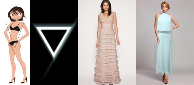 Платья для мамы невесты и жениха с типом фигуры «треугольник» в салоне-магазине «Грация Вечера»