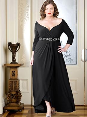 Платье для полных женщин фото. GraceEvening