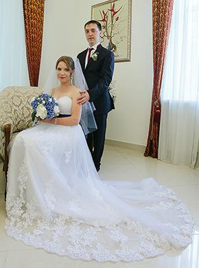 Свадебная фотография Ирины и Алексея