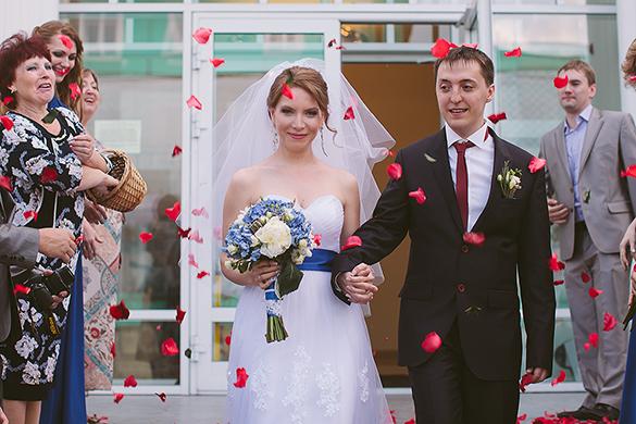 Счастливы вместе Ирина и Алексей. Фото